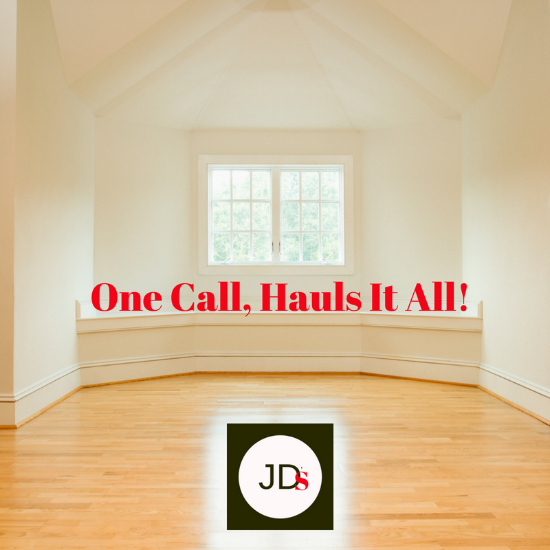 One Call, Hauls It All!